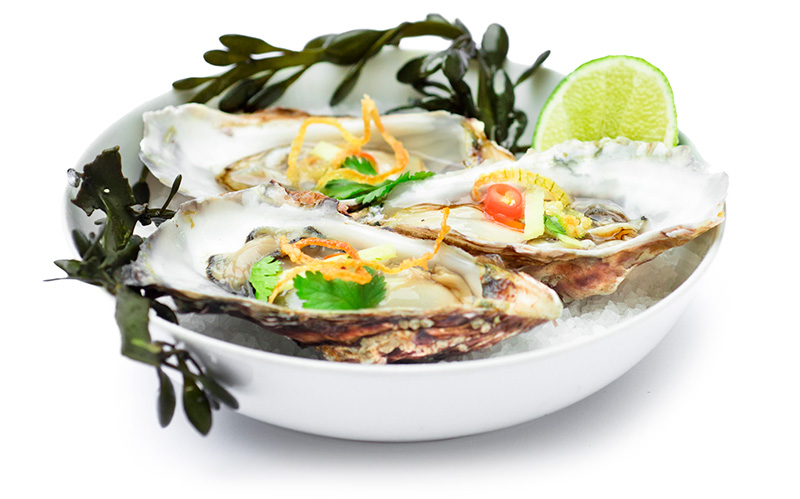 Austern Thai Style
