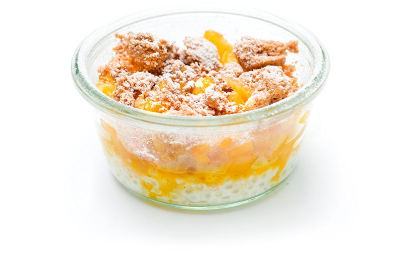 Cocos-Tapioka Pudding